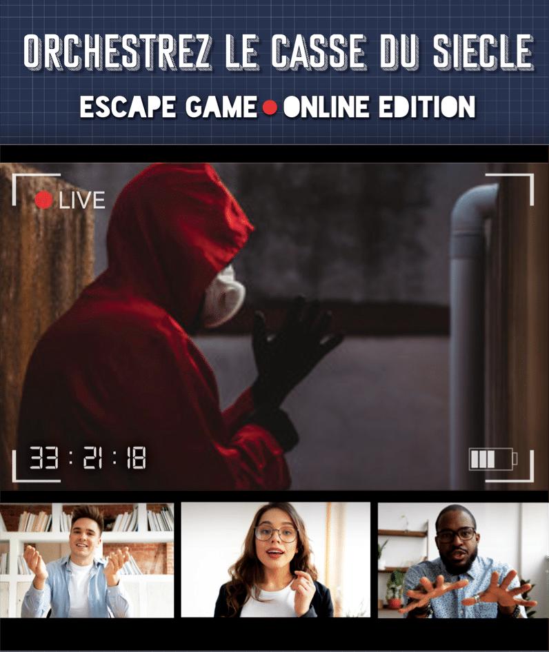 Affiche Escape Game Online